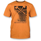 Orange Woodblock T-Shirt