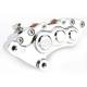 Chrome J-Six Extreme Six-Piston Front Brake Caliper for 300 MM Rotors - 376T-3262