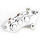 Chrome J-Six Extreme Six-Piston Front Brake Caliper for 300 MM Rotors - 306T-3262