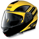 Yellow/Black N104 N-Com Modular Helmet