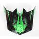 Youth Hi-Viz Green/Black MC-4 Visor - 282-949