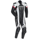 Black/White Adrenaline RR Leather One-Piece Suit
