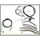 Black Pearl Designer Series Handlebar Installation Kit for Use w/12 in. - 14 in. Ape Hangers (w/ABS) - 487491