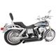 Black Declaration Turn Out Exhaust System - HD00047