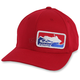 Red Official Flex-Fit Hat - HM5OFFICIALR