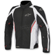 Black/White/Red Megaton Drystar Jacket