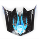 Youth Blue/Black/White MC-2 Visor - 282-929