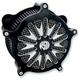 Contrast Cut Boss Venturi Air Cleaner - 0206-2044-BM
