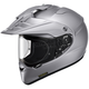 Metallic Silver Hornet X2 Helmet