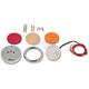 Amber 2.25 in. LED Circle - LEDCIRCLE225AMB