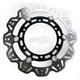Front Black Vee Brake Rotor - VR2074BLK