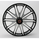 23 in. x 3.5 in. Boss One-Piece Contrast-Cut Aluminum Wheel for Models w/ ABS - 12047306RBSSBM