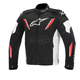 Black/White/Red T-GP R Waterproof Jacket