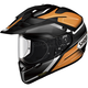 Orange/Black/White Hornet X2 Seeker TC-8 Helmet