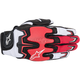 Black/White/Red Fighter Air Gloves