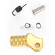 Gold +10mm Knurled Shift Tip - 01-0000-06-50