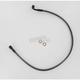 Black Pearl Designer Series 3/8 in./10mm 90 Degree Upper Front Brake Line - 47219