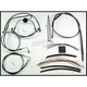 Black Pearl Designer Series Handlebar Installation Kit for Use w/18 in. - 20 in. Ape Hangers (w/ABS) - 487323