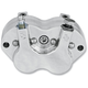 Smooth Polished 4-Piston Quad Series Brake Caliper (w/o ears) - 300T-0441