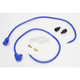 Blue Universal 8mm Pro Wire Set w/90 Degree Boot - 76681