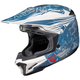 Blue/White MC-2F CL-X7 El Lobo Helmet