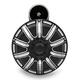 Black 10-Gauge Billet Horn Kit - 70-258