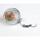 Clear Lens/Amber Bulb Turn Signal Assemblies - 25-2016C