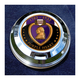 FCM 1.8 Inch Fuel Cap Coin Mount With Engraveable Purple Heart 2-Sided Coin - JMPC-FC-PURPLEHE