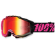 Black/Pink Accuri Canaveral Goggle w/Mirror Red Lens - 50210-113-02