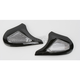 Black Side Cover Kit for AFX FX-50 Helmets - 0133-0579