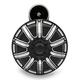 Black Universal 10-Gauge Billet Horn Kit - 70-250