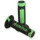 Black/Green Domino Diamonte Grips - A26041C4440