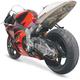 Superbike 2 Rear Undertail Fender Eliminator - H03RC-SB-SIL