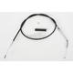 Alternative Length Black Vinyl Idle Cable for Custom Height/Width Handlebars - 0651-0234