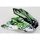 Green Stunt Visor for FX-17 Helmet - 0132-0568