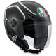 Black/White Blade Teb Helmet