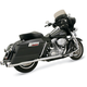 +P Bagger Stepped True-Dual Exhaust System with Power Curve - 1F46J
