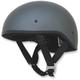 Frost Gray FX-200 Slick Beanie Style Half Helmet