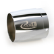 3 1/2 in. Right Tapered Logo Performance Exhaust Tip - 3522-R1R
