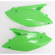Green Side Panels/Rear Number Plates - 2141730403