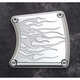 Flame Chrome Billet Inspection Cover - 930827-IFC
