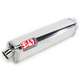 Tri-Oval Race (TRS) Bolt-On Muffler w/Polished Stainless Steel Muffler Sleeve - 1115465