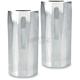 Chrome Tech Fork Slider Covers - 0208-2045-CH