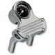 Ball-Milled Handlebar Tach and Riser Kit - 888080