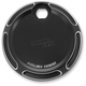Black Beveled Fuel Door - 04-159