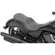 Black Crusade Low-Profile Touring Seat - 0810-1606