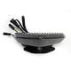 Black Integrated Taillight w/Smoke Lens - MPH-80160B
