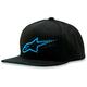 Turquoise/Black Reform Hat - 1013-8505376