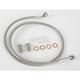 Stainless Steel Rear Extended Brake Line Kit - 8739