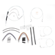 Custom Sterling Chromite II Designer Series Handlebar Installation Kit for Use w/18 in. - 20 in. Ape Hangers (Non-ABS) - 387123